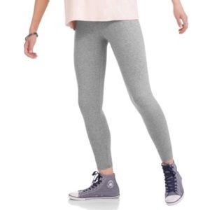 No Boundaries Light Gray Leggings in Juniors